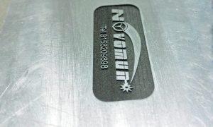 Grabado en aluminio con laser