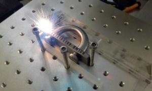 marcado de acero con laser